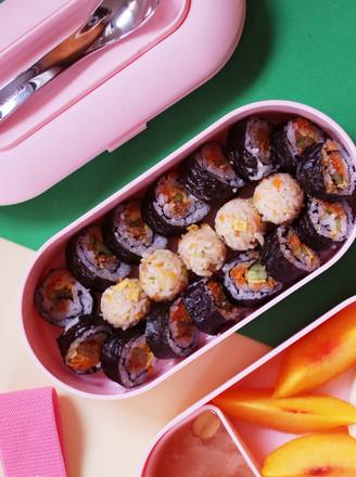 自制紫菜包饭的做法
