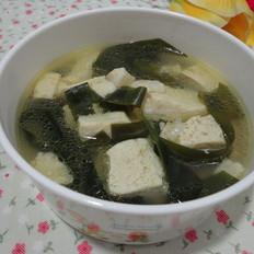 五花肉海带冻豆腐汤