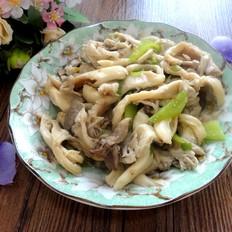蘑菇尖椒炒肉