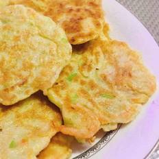 萝卜丝虾饼