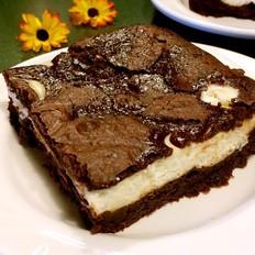 奶油奶酪巧克力布朗尼
