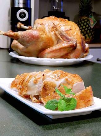烤火鸡的做法