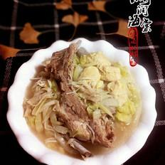 白菜冻豆腐排骨汤