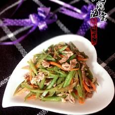 豆角丝炒肉