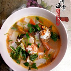 萝卜鲜味汤