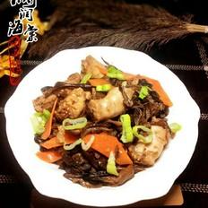 榛蘑炖鸡脖