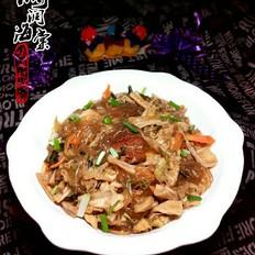 红烧肉炖干白菜