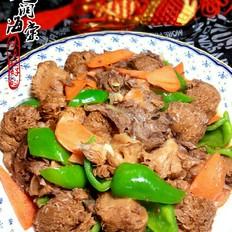 猴头菇炖牛肉