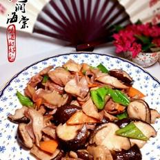 爆炒香菇肚片