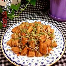 芽菜炒油条