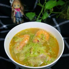 白菜海鲜汤
