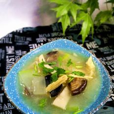 冬瓜腐竹菌菇汤