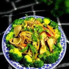 大肠肚片炒榨菜