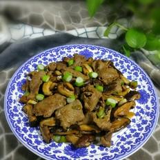 香菇炒牛肉