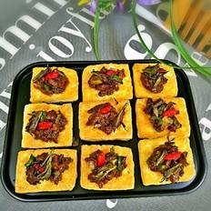 香椿牛肉豆腐