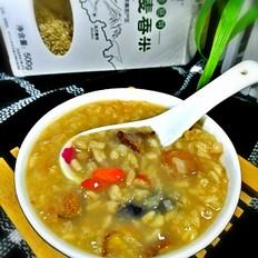 栗仁燕麦香米粥