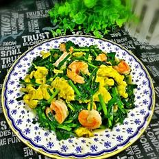 韭菜虾仁炒鸡蛋