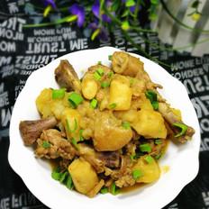 鸡骨炖土豆山药