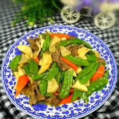 荷兰豆炒牛肉