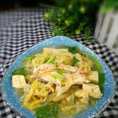 酸菜鱼腩冻豆腐