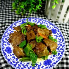青椒炒口条