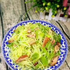 芹菜土豆炒鸡腿肉