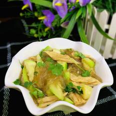 角瓜腐竹炖粉条