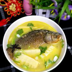 竹笋鲫鱼汤