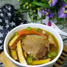 豆干牛肉汤