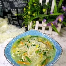 豆芽粉丝汤