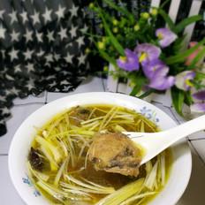 黄鱼紫菜汤