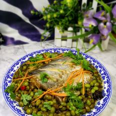 刀鱼炖青豆
