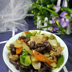 洋葱红蘑炖羊肉