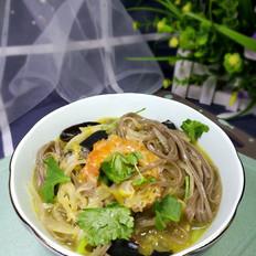 酸菜荞麦面
