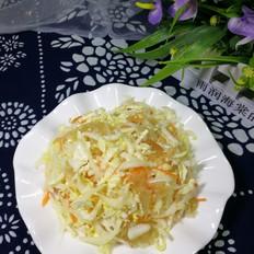 白菜拌海蜇头的做法