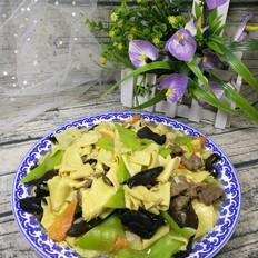 牛肉炒干豆腐