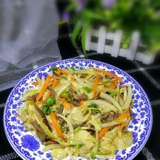 洋葱黄针菇炒牛肉