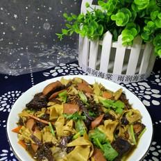 乌干菜炖干豆腐