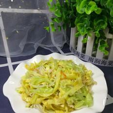 黄瓜金针菇拌蛋丝