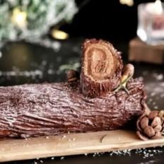 圣诞绝配——木材蛋糕,巧克力控最爱