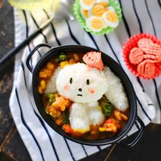 咖喱饭团之小萌兔