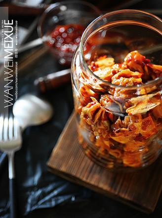 乌鸡馄饨拌辣酱的做法