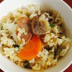 电饭锅腊味饭