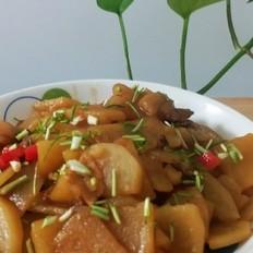 红烧土豆肉片