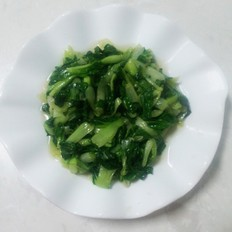 猪油烩小青菜