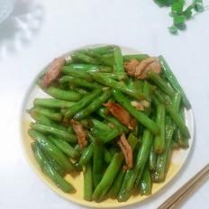 【四季平安】四季豆炒肉片