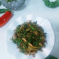 蒜香青椒肉丝