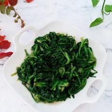 素炒菊花菜