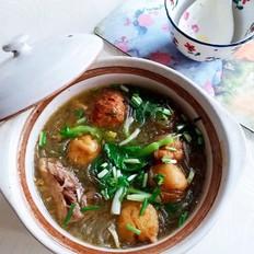 鹅煲粉丝汤