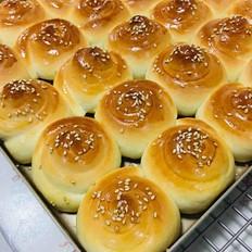 奶油脆底蜂蜜面包